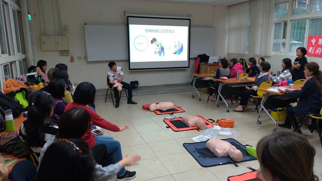 20190316居家安全及嬰兒CPR研習花絮